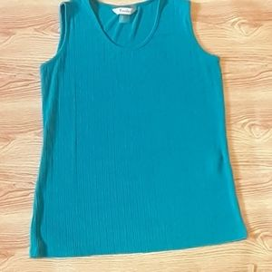 TanJay Teal Top size Small